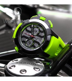 Jacob & Co. 捷克豹 [NEW] EPIC-X Chrono Green EC313.21.SB.BG.C (Retail:HK$211,200)