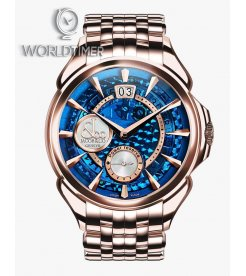 Jacob & Co. 捷克豹 [NEW] PALATIAL CLASSIC BIG DATE MINERAL CRYSTAL DIAL PC400.40.NS.MB.A40AA (Retail:HK$386,600)