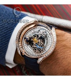 Jacob & Co. 捷克豹 [NEW] Astronomia Solar Full Baguette Tourbillon AS900.40.BD.BD.A (Retail:HK$7,445,100)