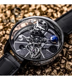 Jacob & Co. 捷克豹 [NEW][LIMITED 18 PIECE] Astronomia Tourbillon Black Gold AT100.31.AC.SD.A (Retail:HK$5,154,300)