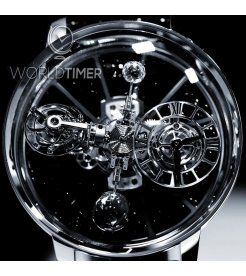 Jacob & Co. 捷克豹 [NEW][LIMITED 18 PIECE] Astronomia Black Ceramic Black Movement Tourbillon AT100.95.KK.SD.B (Retail:HK$4,488,000)