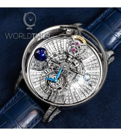 Jacob & Co. 捷克豹 [NEW] Astronomia Tourbillon Baguette White Gold AT800.30.BD.BD.A (Retail:HK$10,000,000)
