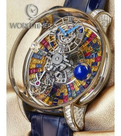 Jacob & Co. 捷克豹 [NEW][UNIQUE] Astronomia Tourbillon Baguette Arlequino AT800.30.BD.UB.B (Retail:HK$8,800,000)