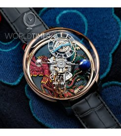 Jacob & Co. 捷克豹 [NEW][UNIQUE] Astronomia Dragon & Phoenix AT100.40.AC.UG.B (Retail:HK$5,727,000)
