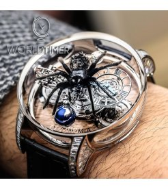 Jacob & Co. 捷克豹 [NEW][UNIQUE] Astronomia Spider Tourbillon AT820.30.SP.SD.B (Retail:HK$8,727,000)