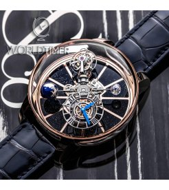 Jacob & Co. 捷克豹 [NEW][LIMITED 18 PIECE] Astronomia Tourbillon Rose Gold AT100.40.AC.SD.A (Retail:HK$5,154,300)