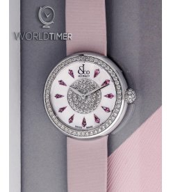 Jacob & Co. 捷克豹 [NEW] Brilliant Pink Sapphire 44mm BQ030.10.RO.KC.A (Retail:HK$167,100)