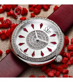 Jacob & Co. 捷克豹 [NEW] Brilliant Red Sapphire BQ030.10.RO.KE.A (Retail:HK$190,900)