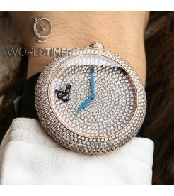 Jacob & Co. 捷克豹 [NEW] Brilliant Pave Rose Gold 44mm BQ030.40.RH.RD.A (Retail:HK$630,000)