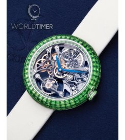 Jacob & Co. 捷克豹 [NEW][LIMITED 18 PIECE] Brilliant Skeleton Baguette Green BS531.30.BZ.BB.ASB4A (Retail:HK$2,243,100)