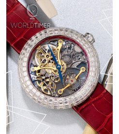 Jacob & Co. 捷克豹 [NEW][LIMITED 18 PIECE] Brilliant Skeleton Full Baguette BS530.30.DR.CB.A (Retail:HK$4,008,900)