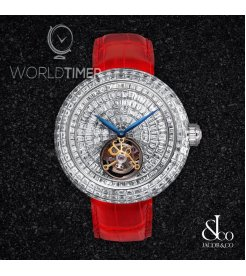 Jacob & Co. 捷克豹 [NEW][LIMITED] Brilliant Flying Tourbillon BT543.30.BD.BD.B (Retail:HK$6,395,200)