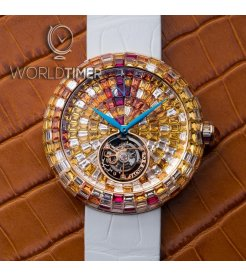 Jacob & Co. 捷克豹 [NEW] Brilliant Flying Tourbillon Sunset BT543.40.SX.UB.B (Retail:HK$5,727,000)