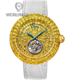 Jacob & Co. 捷克豹 [NEW] Brilliant Flying Tourbillon Yellow Diamonds BT543.50.YD.UA.B (Retail:HK$17,181,000)