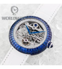 Jacob & Co. 捷克豹 [NEW][UNIQUE] Brilliant Art Deco Blue Sapphire BT545.30.BB.BB.A (Retail:HK$7,158,800)