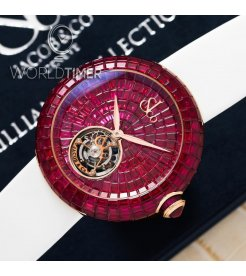 Jacob & Co. 捷克豹 [NEW] Brilliant Flying Tourbillon Ruby BT543.40.BR.UA.B (Retail:HK$9,545,000)
