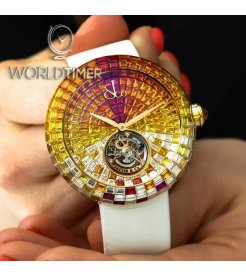 Jacob & Co. 捷克豹 [NEW] Brilliant Flying Tourbillon Sunset BT543.40.SX.UA.B (Retail:HK$5,727,000)