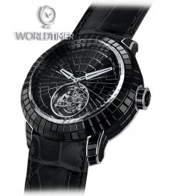 Jacob & Co. 捷克豹 [NEW][LIMITED 3 PIECE] Black Caviar Tourbillon CV201.30.BS.BS.B (Retail:HK$4,008,900)
