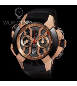 Jacob & Co. 捷克豹 [NEW][LIMITED 50 PIECE] EPIC-X Chrono Luis Figo EC311.42.PD.BF.A (Retail:HK$439,100)