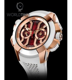 Jacob & Co. 捷克豹 [NEW] EPIC-X Chrono Rose Gold EC312.42.PB.RN.A (Retail:HK$369,600)