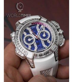 Jacob & Co.捷克豹 [NEW] EPIC-X Chrono Baguette Blue EC422.30.BW.LW.A (Retail:HK$5,727,000)