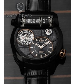 Jacob & Co. 捷克豹 [NEW] EPIC SF24 Tourbillon Titanium Automatic ES102.24.NS.LC.A (Retail:HK$1,540,000)