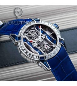 Jacob & Co. 捷克豹 [NEW][LIMITED 6 PIECE] EPIC-X Tourbillon Baguette Platinium EX500.60.BD.BB.A (Retail:HK$5,393,000)