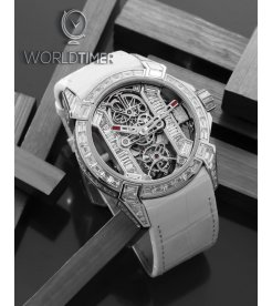 Jacob & Co. 捷克豹 [NEW][LIMITED 6 PIECE] EPIC-X Tourbillon Baguette Platinium EX500.60.BD.BD.A (Retail:HK$6,108,800)