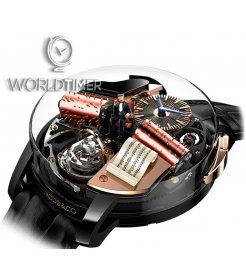 Jacob & Co. 捷克豹 [NEW][LIMITED 18 PIECE] Opera By Jacob & Co. Godfather Musical Watch OP100.21.AD.AB.A (Retail:HK$2,863,500)