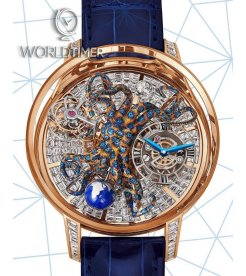 Jacob & Co. 捷克豹 [NEW][UNIQUE] Astronomia Octopus Baguette AT802.40.BD.UA.A (Retail:HK$9,680,000)