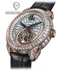 Jacob & Co. 捷克豹 [NEW][LIMITED 18 PIECE] Palatial Opera Flying Tourbillon PO820.40.BD.BD.A (Retail:HK$6,872,400)