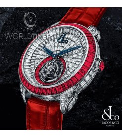 Jacob & Co. 捷克豹 [NEW][LIMITED 18 PIECE] Palatial Opera Flying Tourbillon PO820.30.BD.LR.A (Retail:HK$6,872,400)