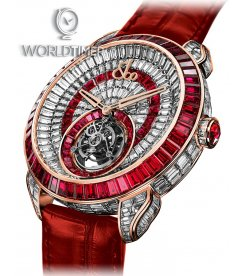 Jacob & Co. 捷克豹 [NEW][LIMITED 18 PIECE] Palatial Opera Flying Tourbillon PO820.40.BD.MR.A (Retail:HK$6,872,400)