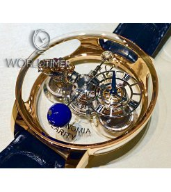 Jacob & Co. 捷克豹 [NEW][LIMITED 9 PIECE] Astronomia Clarity Rose Gold Tourbillon AT120.40.AD.SD.A (Retail:HK$5,280,000)