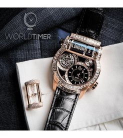 Jacob & Co. 捷克豹 [NEW][LIMITED 18 PIECE] EPIC SF 24 TOURBILLON BAGUETTE ES802.40.BD.BD.A (Retail:HK$2,904,000)