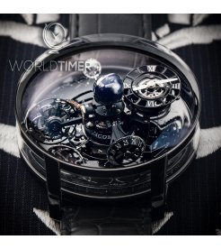 Jacob & Co. 捷克豹 [NEW][LIMITED 18 PIECE] Astronomia Sky Tourbillon Black Gold AT110.31.AA.WD.A (Retail:HK$5,984,000)