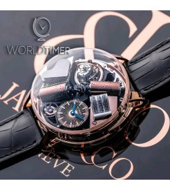 Jacob & Co. 捷克豹 [NEW][LIMITED 18 PIECE] Opera By Godfather Musical Watch Boutique Only OP110.40.AD.AB.A (Retail:HK$3,436,200)