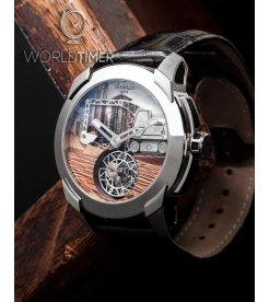 Jacob & Co. 捷克豹 [NEW][LIMITED 18 PIECE][限量18支] Pioneer Flying Tourbillon PI422.20.AB.AB.A (Retail:HK$1,320,000)