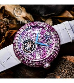 Jacob & Co. 捷克豹 [NEW][LIMITED 18 PIECE] Brilliant Flying Tourbillon Pink Camouflage BT543.30.CP.CP.B (Retail:HK$5,154,300)