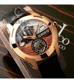 Jacob & Co. 捷克豹 [NEW][LIMITED 18 PIECE] Pioneer Tourbillon PI422.40.AB.AB.A (Retail:HK$1,672,000)