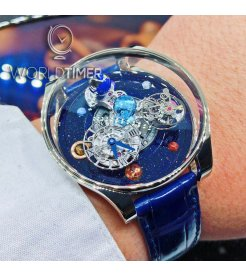 Jacob & Co. 捷克豹 [NEW][LIMITED 9 PIECE] Astronomia Solar Planets Tourbillon White Gold AS300.30.AP.AR.B (Retail:HK$3,010,700)