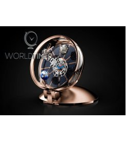 JACOB & CO. 捷克豹 [NEW] ASTRONOMIA TABLECLOCK TOURBILLON GOLD AT900.16.AV.MT.A (Retail:HK$1,496,000)