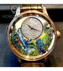 Jaquet Droz [LIMITED 1 PIECE] Tropical Bird Repeater J033033205 (Retail:CHF 885'600)