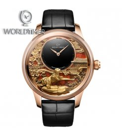 Jaquet Droz [LIMITED 28 PIECE] Petite Heure Minute Relief Dog J005023286 (Retail:CHF 70'200)