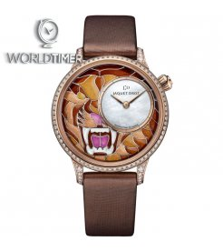 Jaquet Droz [NEW] Petite Heure Minute Smalta Clara Tiger J005503500 (Retail:CHF 56'200)