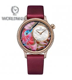 Jaquet Droz [NEW] Petite Heure Minute Smalta Clara Humming Bird J005503501 (Retail:CHF 56'200)