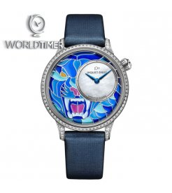 Jaquet Droz [NEW] Petite Heure Minute Smalta Clara Tiger J005504500 (Retail:CHF 56'200)