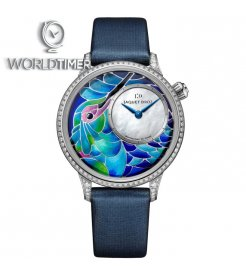 Jaquet Droz [LIMITED 8 PIECE] Petite Heure Minute Smalta Clara Humming Bird J005504501 (Retail:CHF 56'200)