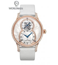 Jaquet Droz [NEW] Grande Seconde Tourbillon Mother-Of-Pearl J013013580 (Retail:CHF 116'750)