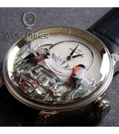 JAQUET DROZ [NEW][LIMITED 8 PIECE] THE BIRD REPEATER ALPINE VIEW J031034205 (Retail:CHF 500,000)